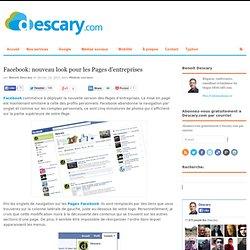 Facebook: nouveau look pour les Pages d'entreprises