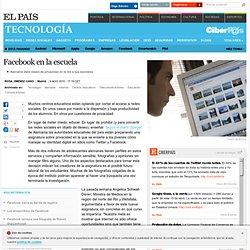 Facebook en la escuela · ELPAÍS.com