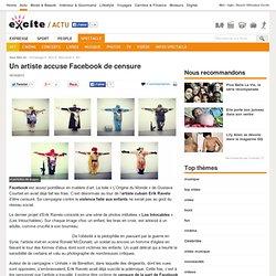 Facebook et la censure artistique