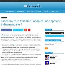 Facebook et le tourisme : adopter une approche événementielle ?