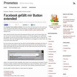 Facebook gefällt mir Button extended
