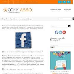 Ce que Facebook peut faire pour votre association (ou pas)