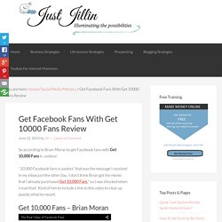 Get Facebook Fans With Get 10000 Fans Review
