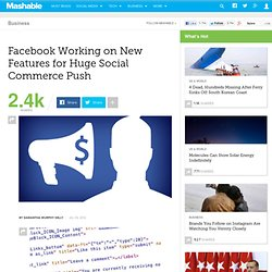 Facebook Working on New Features...