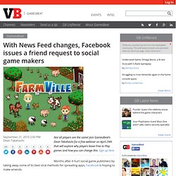 Facebook to announce how it will draw more attention to social games