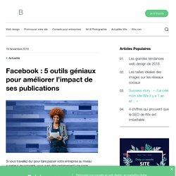 Facebook : 5 outils géniaux pour améliorer votre impact - Wix.com