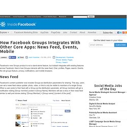 How Facebook Groups Integrates With Other Core Apps: News Feed, Events, Mobile