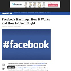 Facebook Hashtags: How It Works and How to Use It Right