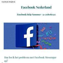 Facebook Messenger problemen en oplossingen