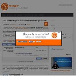 Pestaña de Pagina en Facebook con Propio Icono