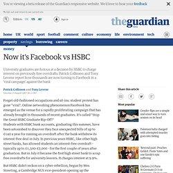 Now it's Facebook vs HSBC