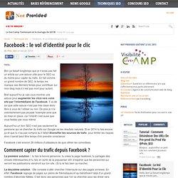 Facebook : le vol d'identité pour le clic