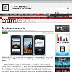 Numérique - Article - Facebook, un an après