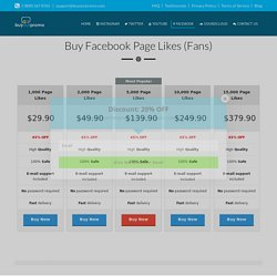 Buy Facebook Likes-Buyourpromo