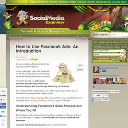 How to Use Facebook Ads: An Introduction