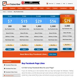 Buy Facebook Likes - 100% Real, Active, Safe & Cheap rate