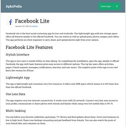 Facebook Lite 233.0.0.3.118 APK download for Android