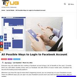 Facebook Login- How to Sign in or Sign Up Facebook