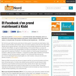 Et Facebook s'en prend maintenant à Kiabi