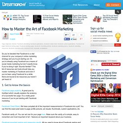 How to Master the Art of Facebook Marketing