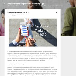 Facebook Marketing: Effective & Consistent Marketing Method