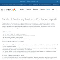 Facebook Marketing Services in UK– YNG Media