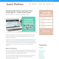 Facebook Marketing Training for Real Estate Agents - Arezzo Place Davao