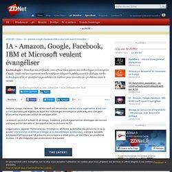 IA - Amazon, Google, Facebook, IBM et Microsoft veulent évangéliser - ZDNet