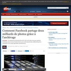 Comment Facebook partage deux milliards de photos grâce à l'archivage