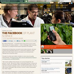 The Facebook of plant science