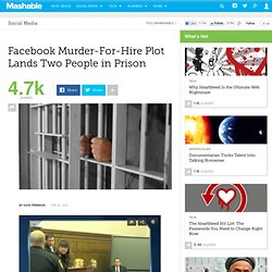 Facebook Murder-For-Hire Plot Lands Two People in Prison