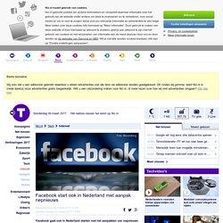 Facebook start ook in Nederland met aanpak nepnieuws