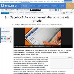 Sur Facebook, la «norme» est d'exposer sa vie privée