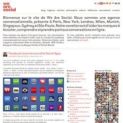Facebook lance les nouvelles Social Apps