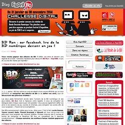 BD Run : sur Facebook, lire de la BD numérique devient un jeu !