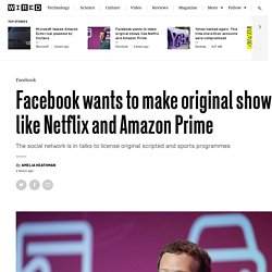 Facebook in talks to create original scripted and sports shows