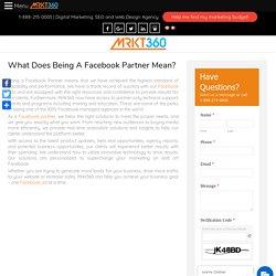 Facebook Partners Toronto: Facebook Ads for Business by Mrkt360