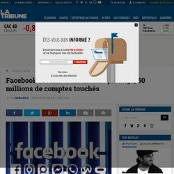 Facebook victime d'un énorme piratage, 50 millions de comptes touchés