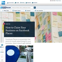 How To Claim Your Business On Facebook Places