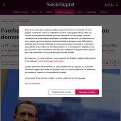 Facebook inculpé pour abus de position dominante