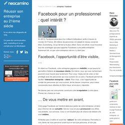 Facebook pour un professionnel : quel intérêt
