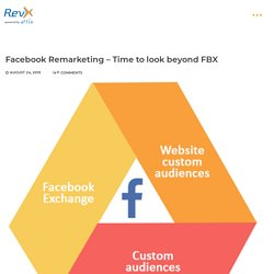 Facebook Remarketing – Time to look beyond FBX
