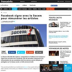 Facebook Sacem
