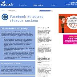 Facebook et autres réseaux sociaux netecoute.fr