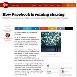 How Facebook is ruining sharing | Molly Rants