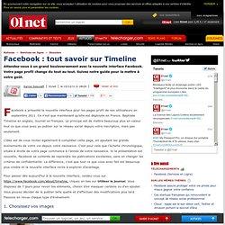 Facebook: tout savoir sur Timeline