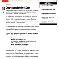 The Facebook News Feed: How it Works,10 Biggest Secrets