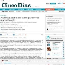 Facebook sienta las bases para ser el nuevo Google