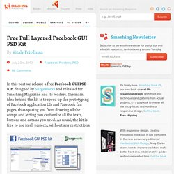 Free Full Layered Facebook GUI PSD Kit - Smashing Magazine