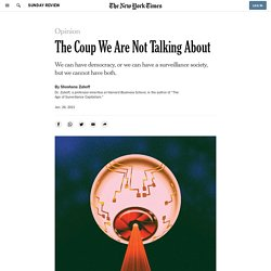 Facebook and the Surveillance Society: The Other Coup